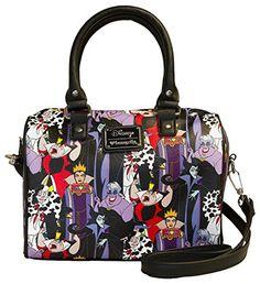 Loungefly Disney Villains Print Duffle Bag *** Continue @