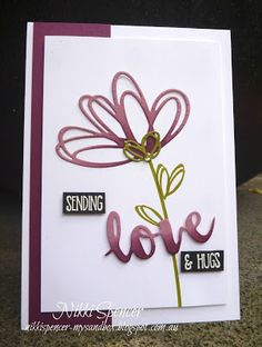 """It's Stamp Review Crew  time again and this hop we are showcasing the lovely """"Sunshine Sayings"""" set. The sentiments are lots ... Pretty Cards, Love Cards, Stamping Up Cards, Bird Cards, Heart Cards, Sympathy Cards, Anniversary Cards, Homemade Cards, Scrapbook Cards"""