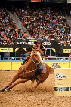 Run in the NFR! <3 Lindsey Sears and Martha