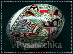 Real Ukrainian Pysanka Goose Pysanky Best by Halyna, Easter Egg  #Collectible