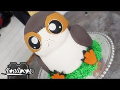 Star Wars porg cake - Koalipops on YouTube