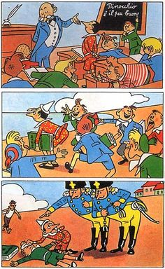 Pinocchio, Children's Book Illustration, Childrens Books, Comic Books, Comics, Art, Illustrations, Children's Books, Art Background