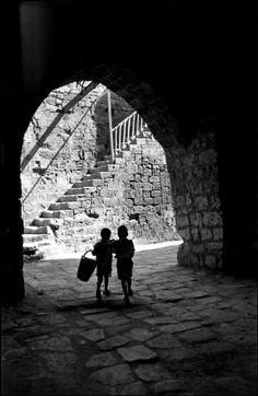 Leonard Freed - Jerusalem, the old city. © Leonard Freed/Magnum Photos.