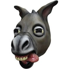 Dunky the Donkey Mask with tongue out - Imaginations Costume & Dance