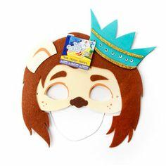 cowardly lion mask for favor bag
