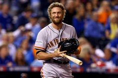 20 Best Beards of Baseball 2015 - Urban Beardsman - Yes. This is my list and I am including San Francisco Giants OF Hunter Pence. Despite the crazed look in his eyes, nobody in the game today can pull off the curly hair/full beard combination like him.