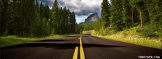 Download Highway Facebook Cover for Free
