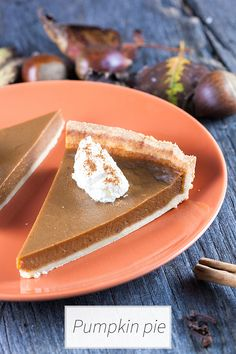 Amazing recipe for a traditional pumpkin pie with a beautiful crust. This recipe uses fresh pumpkin and delicious spices. Recipe for 8, ready in 1 hour+.