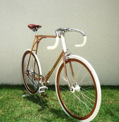 Restoration by Vanguard Bicycles. Hello there.