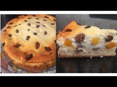 Pasca cu branza dulce si aluat fara drojdie / Reteta rapida Muffin, Cheese, Make It Yourself, Breakfast, Sweet, Youtube, Food, Kitchens, Basque