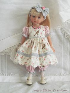 The Porcelain China Diane Refferal: 8561514089 American Doll Clothes, Ag Doll Clothes, Doll Clothes Patterns, Dolly Fashion, Red Fashion, Fashion Dolls, Little Girl Dresses, Flower Girl Dresses, Doll Dresses