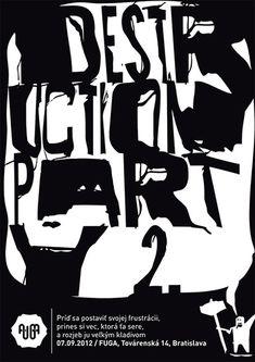 Black And White Poster Design 39