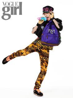 Jeong Min - Vogue Girl Magazine