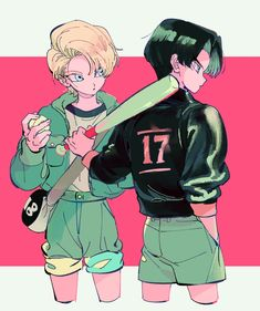Androids 17 & 18