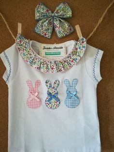 Embroidery ideas for baby onesies shirts 36 ideas for 2019 Baby Sewing Projects, Sewing For Kids, Baby Applique, New T Shirt Design, Pattern Fashion, Baby Dress, Kids Outfits, Onesies, Fashion Outfits
