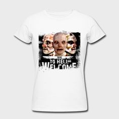 WELCOME TO HELL - 1.0.0 T-Shirt | CMI | SPRÜCHE