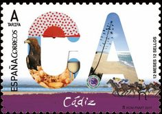 Stamp: Cádiz (Spain) (12 Months, 12 Stamps) Mi:ES 5129