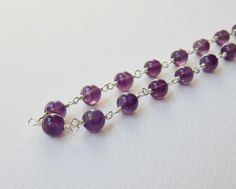 Hey, I found this really awesome Etsy listing at https://www.etsy.com/listing/101551394/amethyst-necklace-sterling-silver-beaded