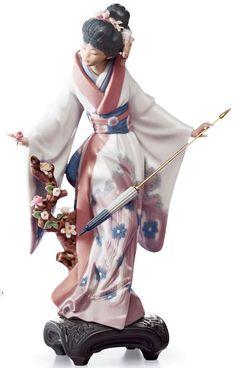 Lladró - Japonesita con Sombrilla (1983 - 2013)