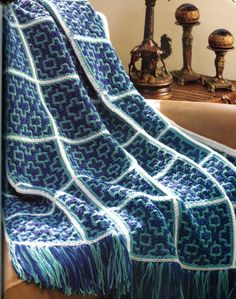 Beginner Moroccan Crochet Blanket Pattern So by PearlShoreCat