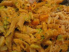 Butternutsquashy Veggie Mac & Cheesy