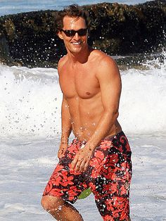 A bit older but certainly not softer. He's a riot & often half-dressed in Mighty Mike. Ok movie, super hot guys. Camilla Alves, Matthew Mcconaughey Shirtless, Shirtless Hunks, Famous Men, Celebs, Celebrities, Good Looking Men, My Guy, Beautiful People