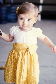 """how to"" for high waist skirt for toddler! how precious"