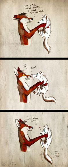 Commission: Little Demon by Culpeo-Fox on DeviantArt