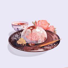 Arte Do Kawaii, Kawaii Art, Cute Food Drawings, Kawaii Drawings, Dessert Illustration, Cute Illustration, Cute Food Art, Cute Art, Aesthetic Food