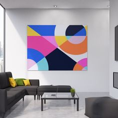 Canvas Art Prints, Canvas Wall Art, Canvas Paintings, Pop Art, Graffiti Girl, Modern, Contemporary, Geometric Art, Abstract