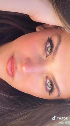 Face Makeup Tips, Natural Makeup Looks, Skin Makeup, Cute Makeup Looks, Gorgeous Makeup, Pretty Makeup, Model Makeup Tutorial, Makeup Makeover, Models Makeup