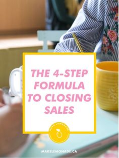 THE 4-STEP FORMULA FROM THE EXPERTS WHO KNOW BEST  business sales tipsbusiness sales tips marketingbusiness sales tips marketing entrepreneurbusiness sales tips articlesbusiness sales quotesbusiness sales social mediabusiness sales websitebusiness sales entrepreneurshipselling with heart Entrepreneur Books, Entrepreneur Inspiration, Business Entrepreneur, Start A Business From Home, Starting A Business, Business Sales, Business Tips, Closing Sales, Sales Tips
