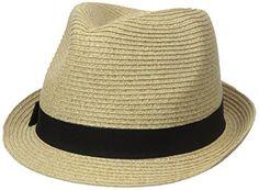 Nine West Women's Packable Classic Fedora Hat