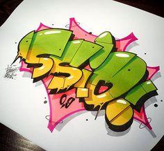 SSIO BY RAWS - Nuttöööö #raws #graffiti #ssio #0,9 #graffitiart #hiphop #deutschrap #graff #sketch #urbanart #comic #instagraffiti #graffitiporn #contemporaryart #instagraff #berlin #allesodernix #aon @ssio1