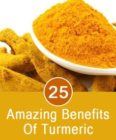25 Amazing Benefits Of Turmeric. Careful with handling it will stain if left on something for too long.