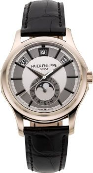 Ref. 5205 Patek Philippe centre-seconds 18k white gold that