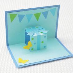 初心者でも簡単!プレゼントボックスのポップアップカードの作り方(メッセージカード) | ぬくもり