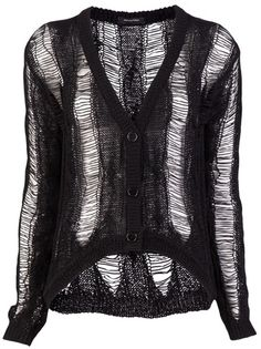 Unconditional Black Cable Knit Cardigan