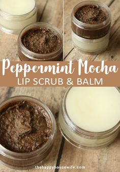 This Peppermint Mocha Lip Scrub uses the mild exfoliating power of coffee grounds. I used ground coffee after it was brewed. This softens it a bit and makes it gentler on your skin. But I'm sure you could use fresh ground coffee if you prefer. Perfect for dry chapped lips during the winter months. Also makes a great homemade Christmas gift. Homemade Christmas Gifts, Homemade Gifts, Fresh Ground Coffee, Peppermint Mocha, Chapped Lips, Homemade Beauty Products, Diy Skin Care, Winter Months, Us Foods