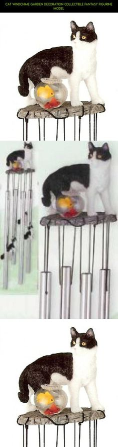 Cat Windchime Garden Decoration Collectible Fantasy Figurine Model #plans #camera #tech #kit #outdoor #gadgets #parts #drone #fpv #cat #technology #decor #shopping #racing #products