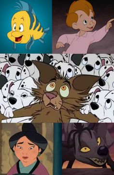 Can You Name These 25 Random Disney Characters? 18/25!