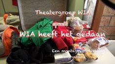 Impressie - WIA heeft het gedaan? - Een montagevoorstelling uit improvisatie. Amsterdam, juni 2014, Polanentheater.