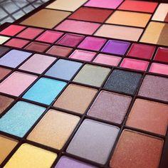 Primer plano #compacto #maquillaje! #color #sombras