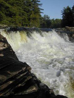 Wilson's Falls, Bracebridge, Ontario, Canada
