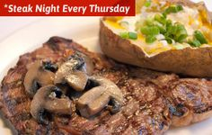 Christies Restaurant Steak night every Thursday