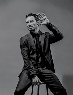 Michael Fassbender lensed by Bruce Weber and styled by Joe McKenna, for the Fall 2015 coverstory of New York Times' T magazine. Michael Fassbender, Bruce Weber, Alicia Vikander, X Men, Michael Shannon, Joseph Gordon Levitt, Cherik, New York Times Magazine, T Magazine