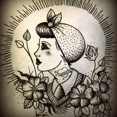 art about tattoo - ideas - cartoon - comic - tattooed girls - tattooed boys - pinups - old school - sketching - draw - design
