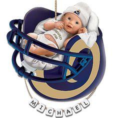 Los Angeles Rams Zubaz Pants - Navy/Gold