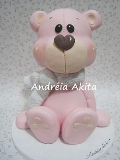 *SORRY, no information as to product used ~ Urso Rosa para Mega Artesanal 2011 | Flickr - Photo Sharing!
