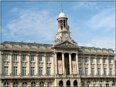 Neo Classical Hôtel de Ville de Cambrai. The name infamous from the Great War battles.